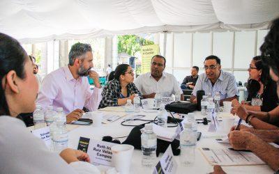 1º Mesa con Ayuntamientos