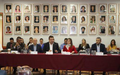 Mesas con Poder Legislativo